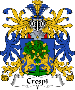 The Great Italian surname of Crespi..