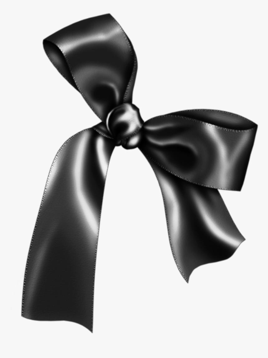 bow #lazo #ribbon #cinta #black #negro #dark #oscuro.