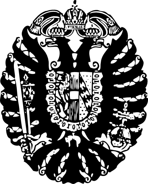 Hapsburg Crest clip art Free vector in Open office drawing.