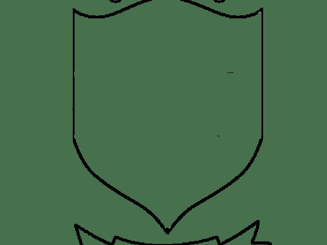 blank school crest template.