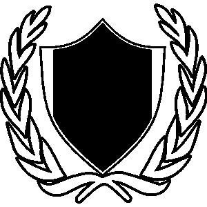 Clip art crest.