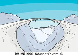 Crevasses Clipart Illustrations. 14 crevasses clip art vector EPS.