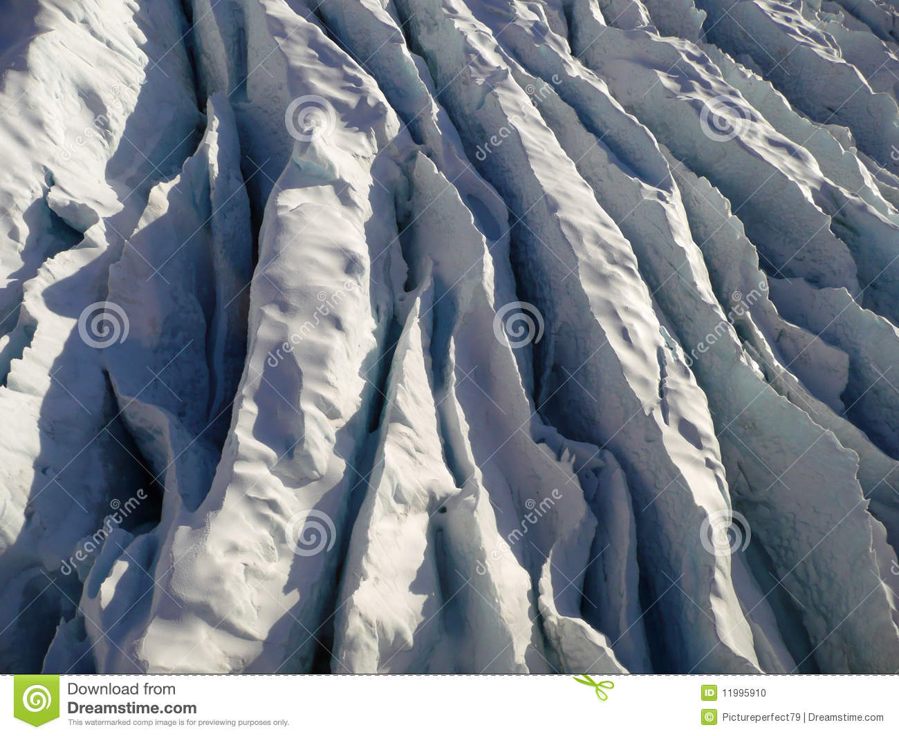 Ice / Crevasse Stock Photo.