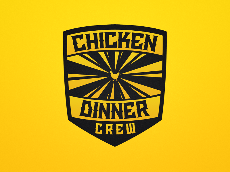Chicken Dinner Crew Logo by Kay Christian Kage on Dribbble.