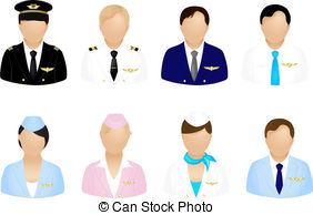 Cabin crew Clipart and Stock Illustrations. 367 Cabin crew vector.
