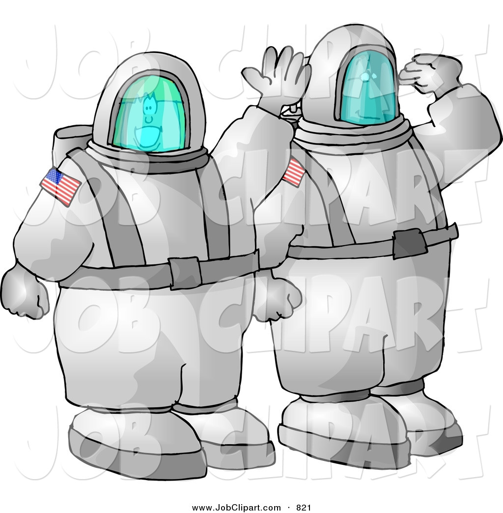 Royalty Free Crew Member of a Spacecraft Stock Job Designs.
