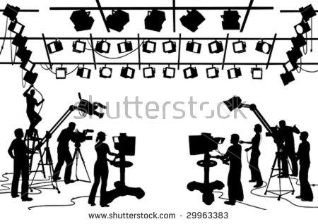 Film Crew Stock Photos, Royalty.