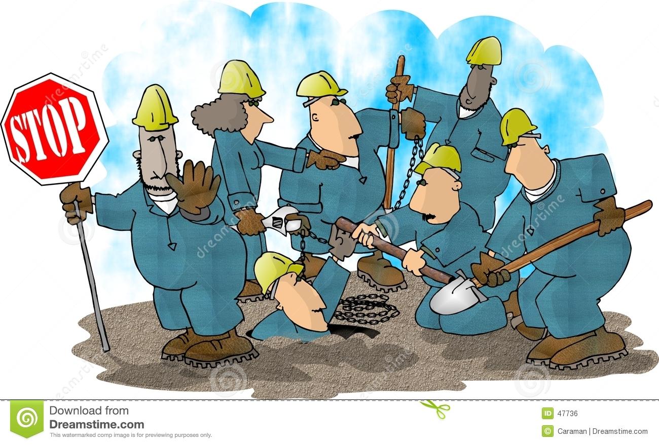 Construction crew clipart.