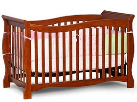 Free Baby Crib Clipart.