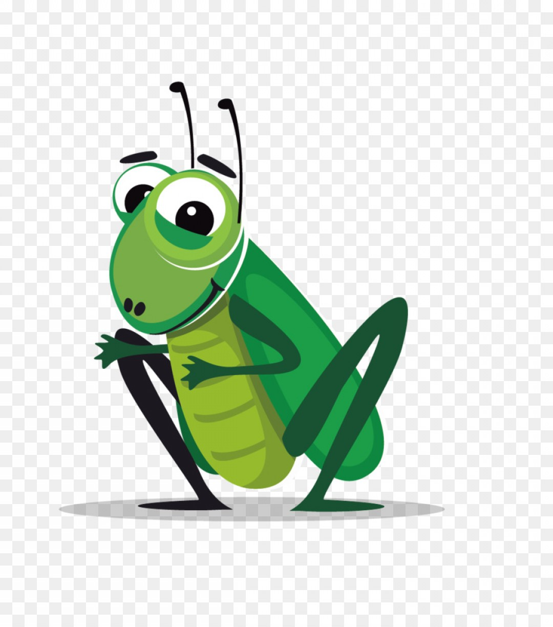 Png Insect Cricket Cartoon Clip Art Vector Material Gr.