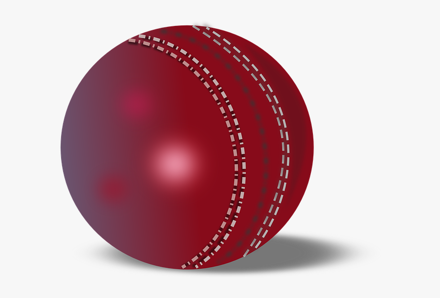 Cricket Ball Png Transparent , Free Transparent Clipart.