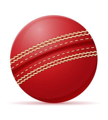 cricket ball vector illustration.