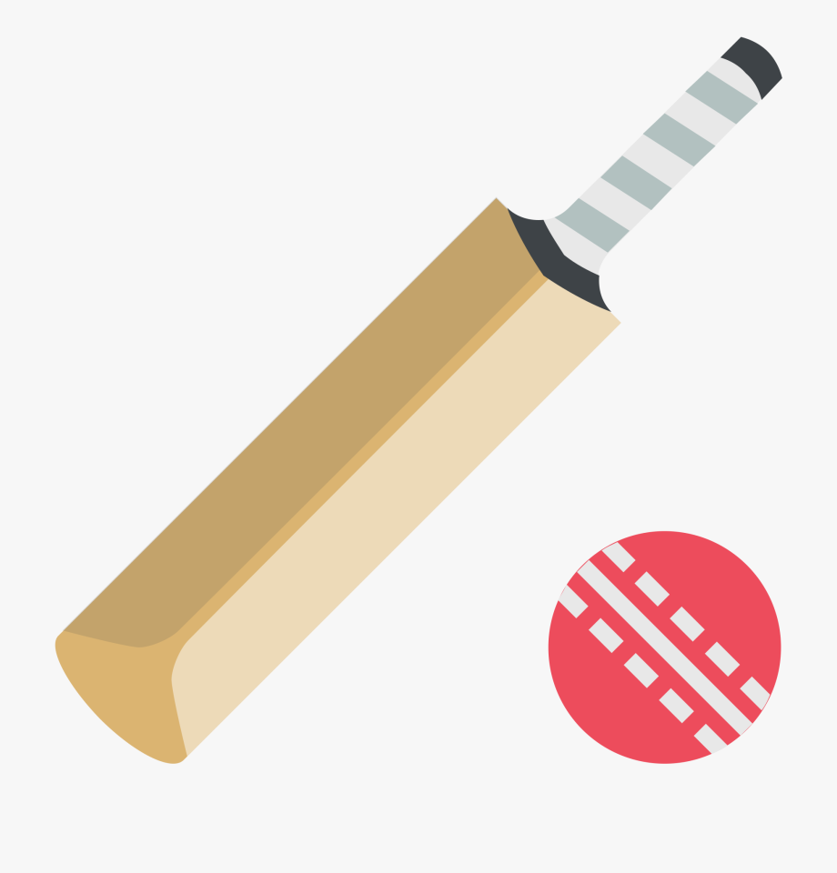 Cricket Bat Icon Png Clipart , Png Download.