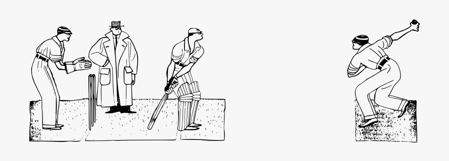 Cricket Clipart Black And White.