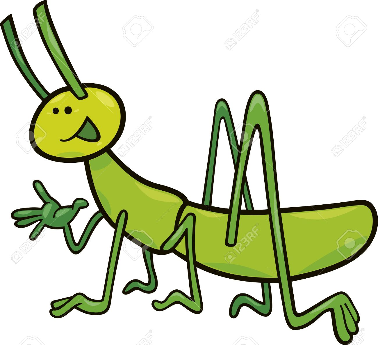 Cricket clipart insect 4 » Clipart Station.
