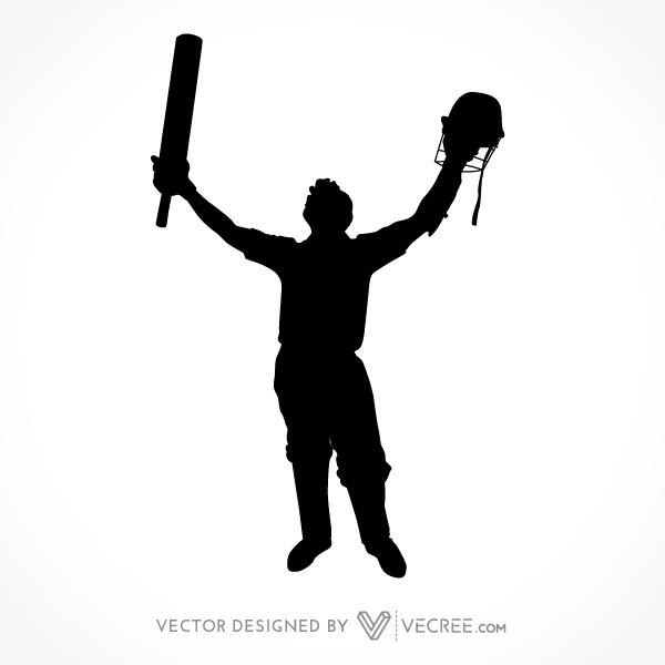 Cricket clipart vector.
