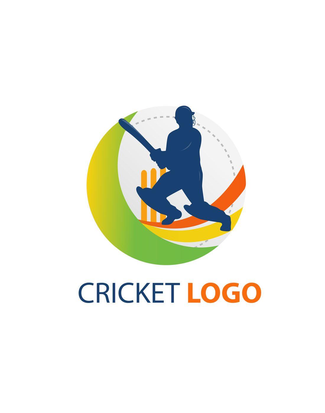 cricket vector logo templates.
