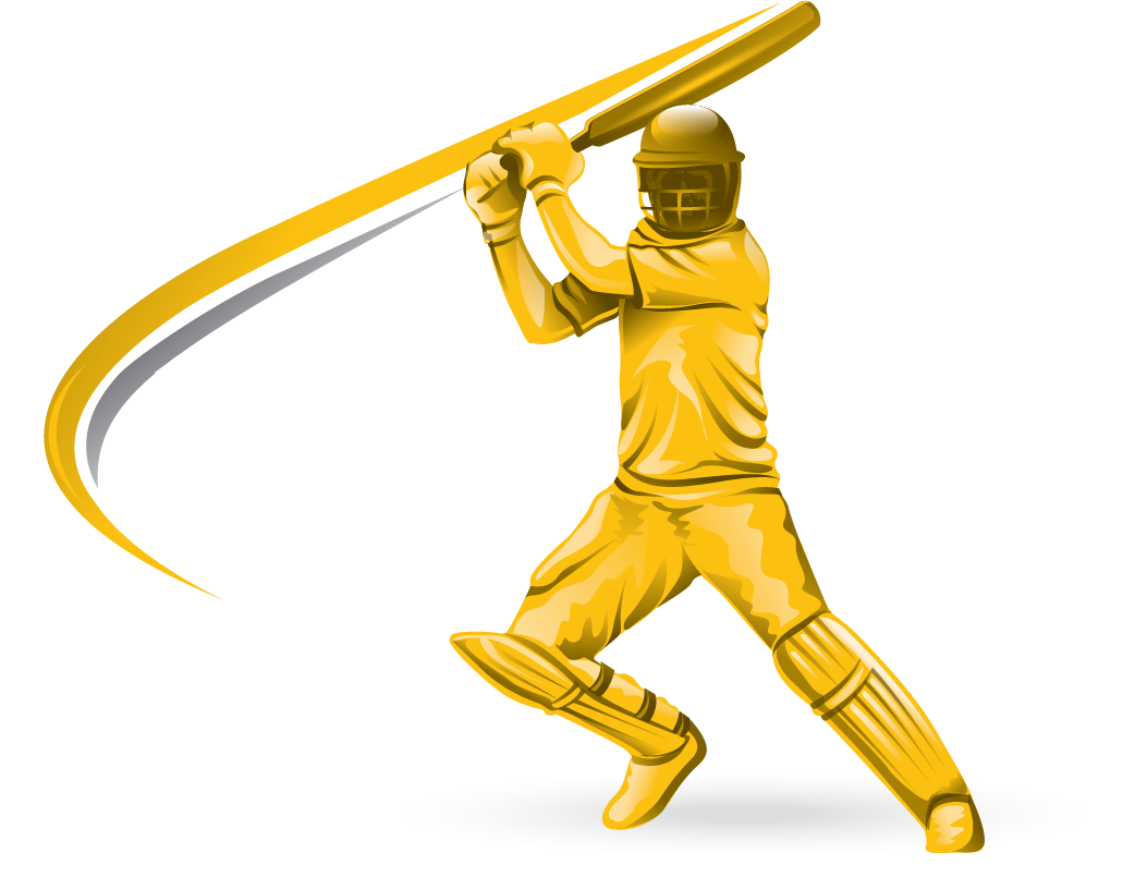 Cricket player cricket clipart images.