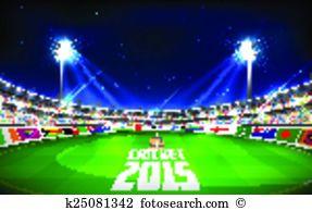 Cricket ground Clipart Illustrations. 118 cricket ground clip art.