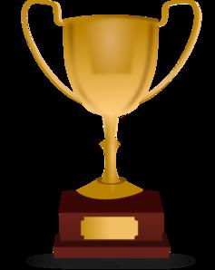 Cricket Trophy Clipart.