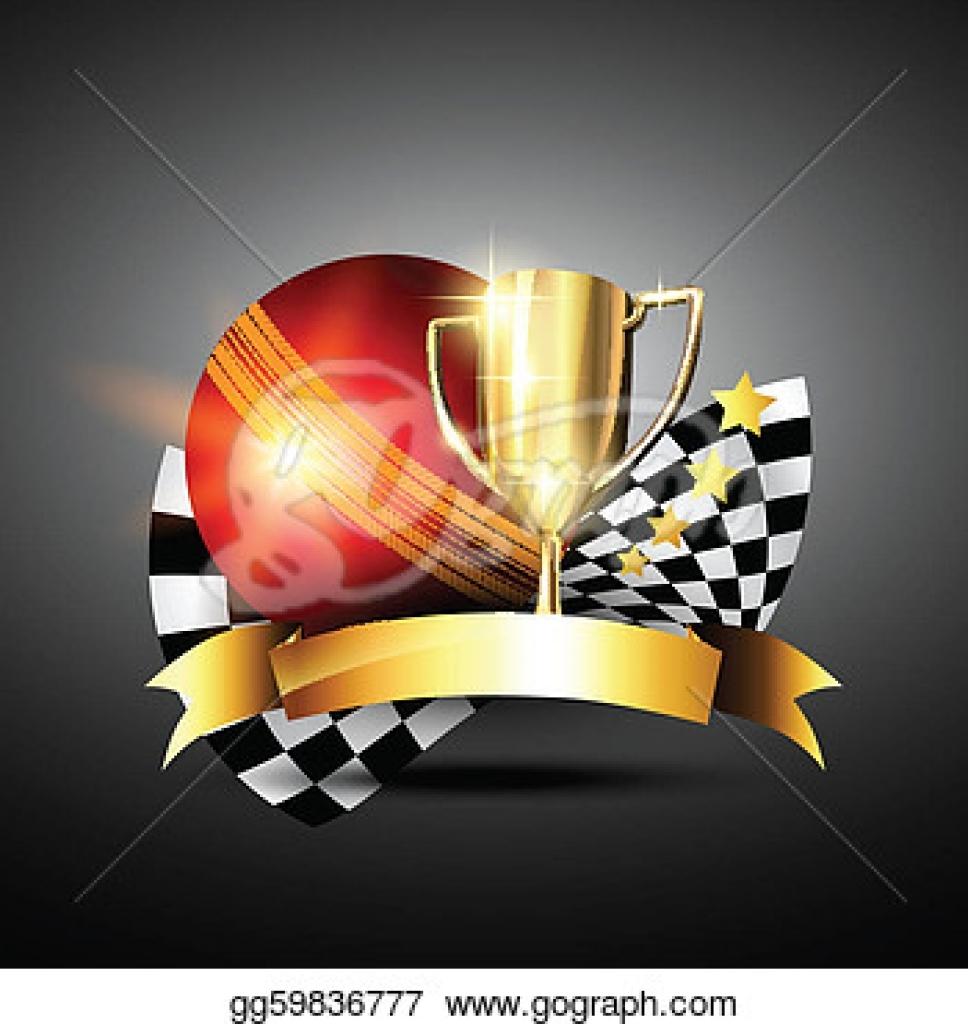 cricket trophy clipart free download vector art golden cricket.