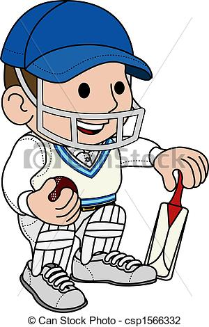 Cricketer Illustrations and Clipart. 2,667 Cricketer royalty free.