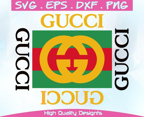 INSPIRED BY Gucci svg, eps,dxf,png, Digital Prints, Vector Files.