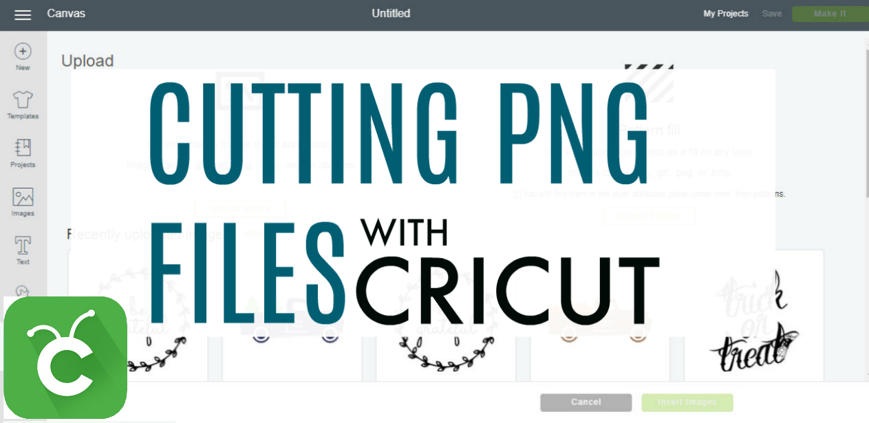 How to Cut PNG Files with Cricut.