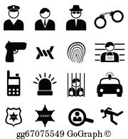 Crime Clip Art.