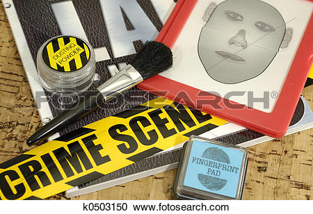 Stock Photography of Crime Lab k0503150.