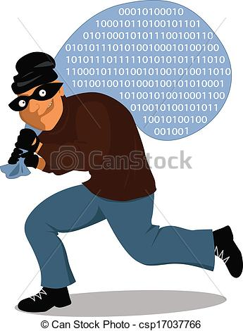 computer thief clipart #15