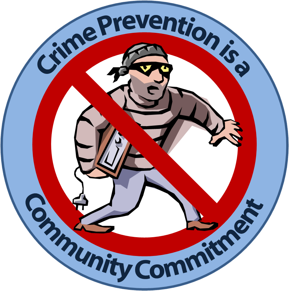 733 Crime free clipart.