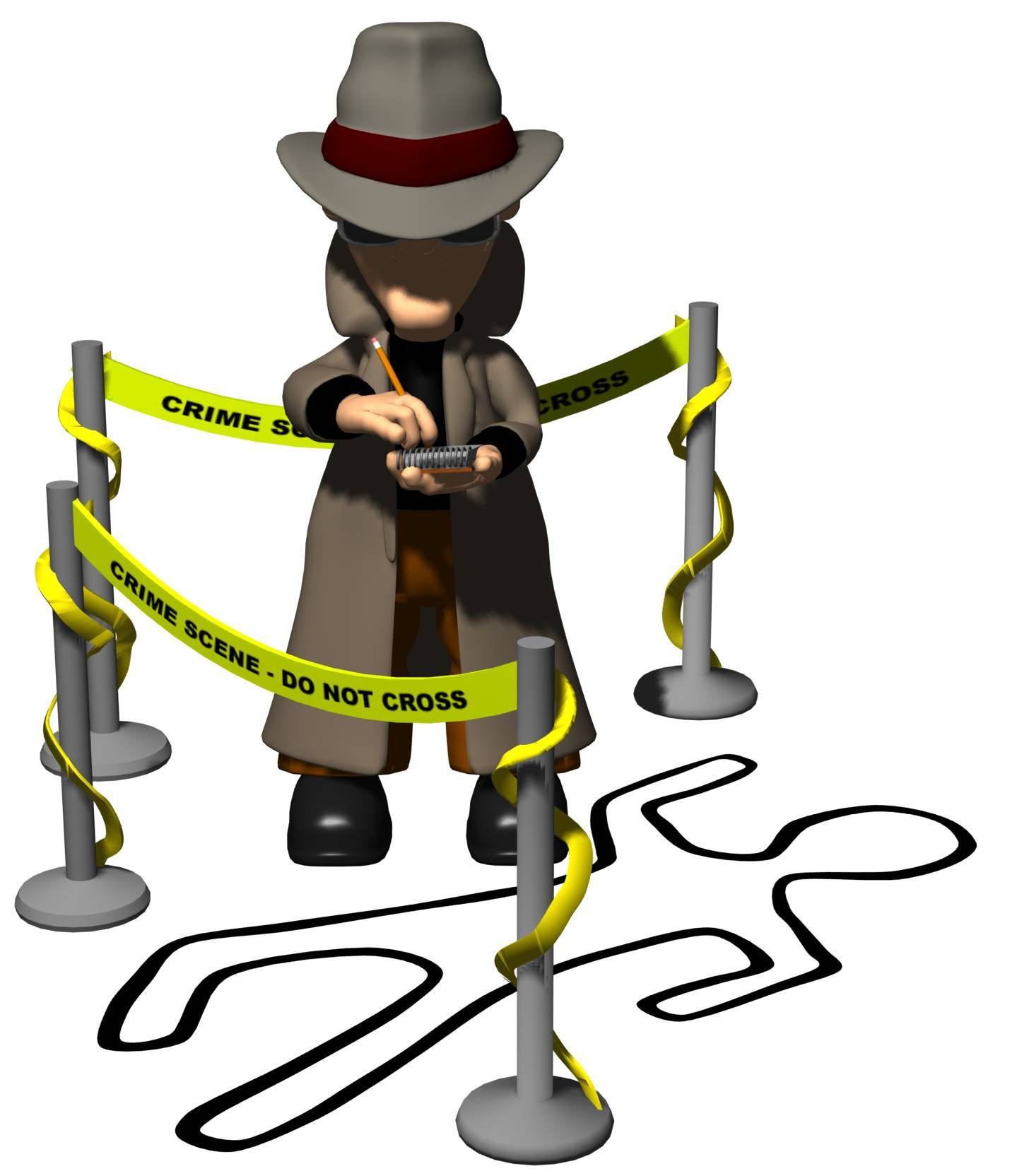 Crime Scene Clip Art N5 image in Vector cliparts category at pixy.