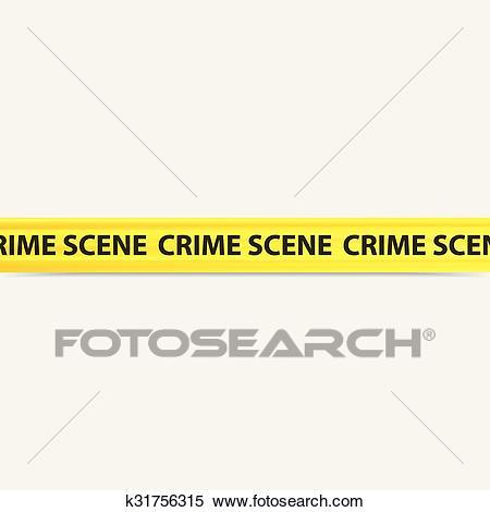Crime scene tape Clipart.