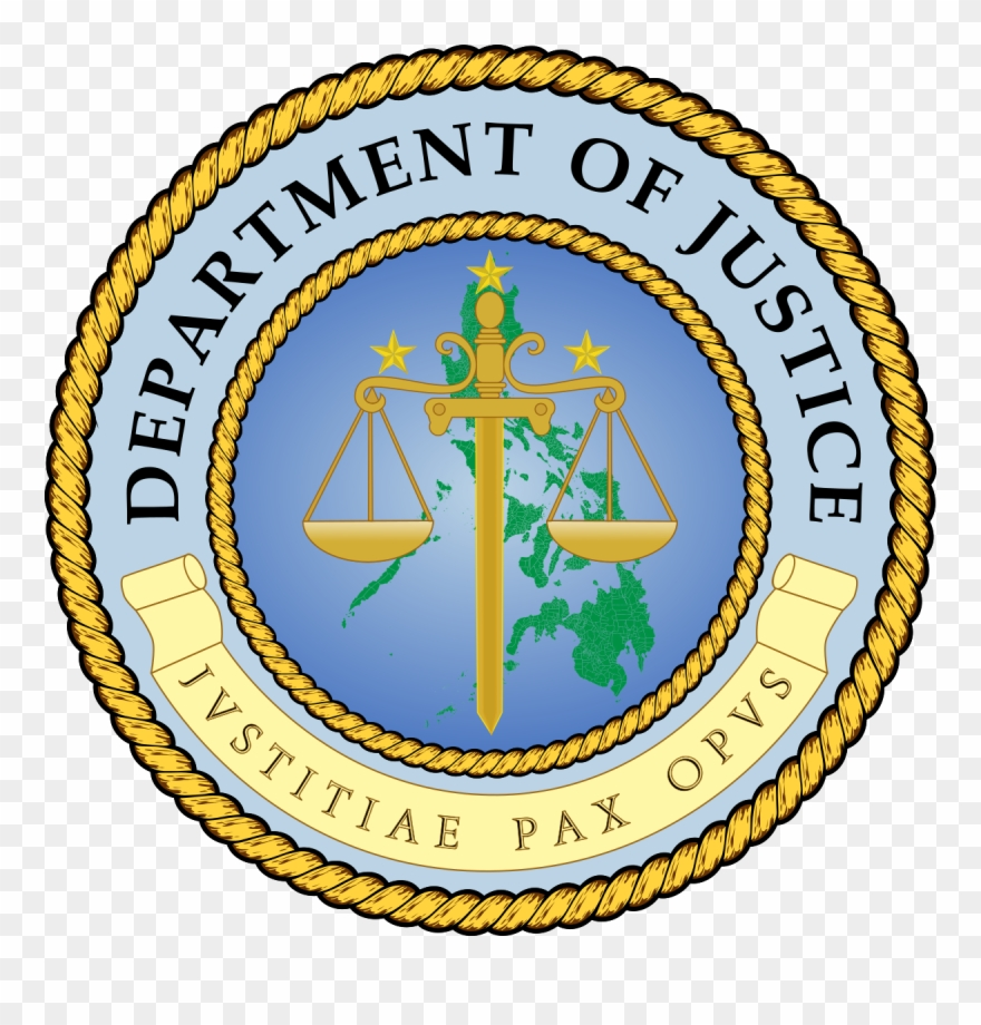 Department Of Justice Philippines Logo Clipart (#972214.