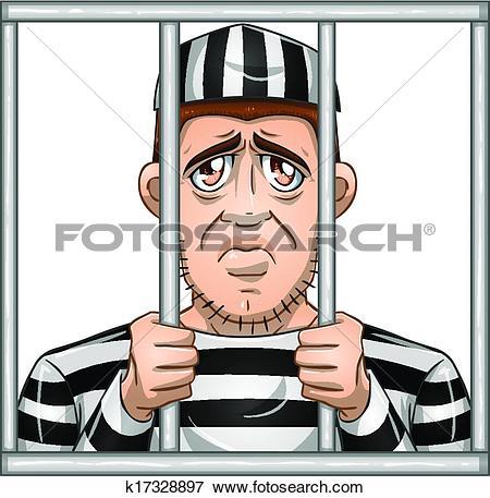 Clip Art of White Collar Criminal k6971719.