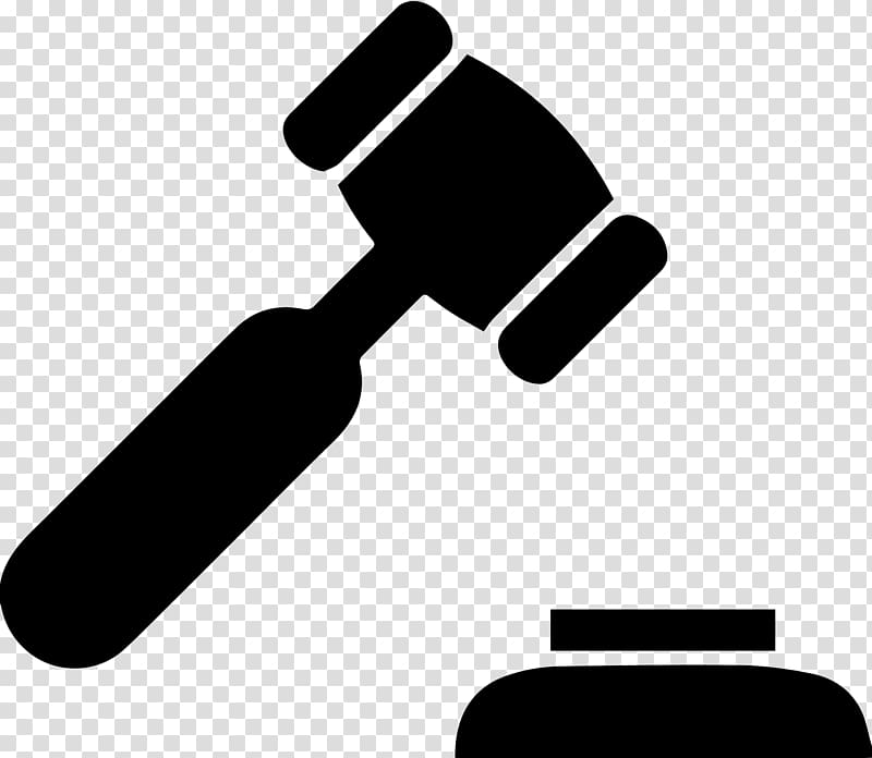 Gavel Hammer Judge Court Criminal law, hammer transparent.