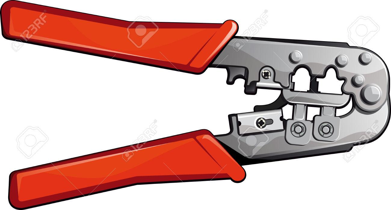 Crimping Tool Royalty Free Cliparts, Vectors, And Stock.