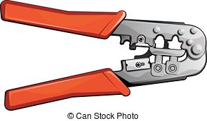 Crimper Vector Clipart Royalty Free. 14 Crimper clip art vector.