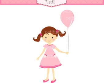 Little girl birthday clipart clipart images gallery for free.
