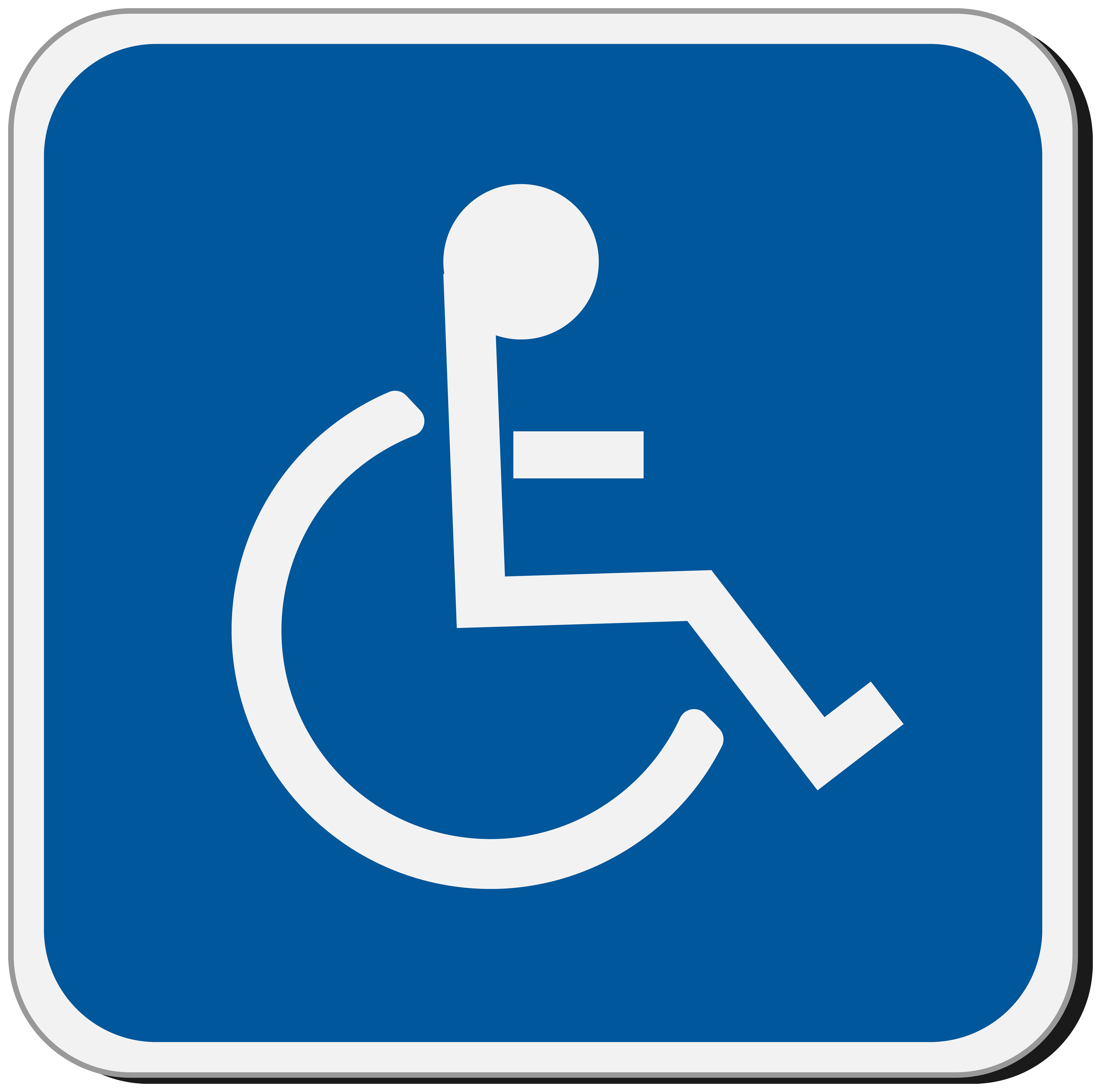 Cripple Sign PNG Clipart.