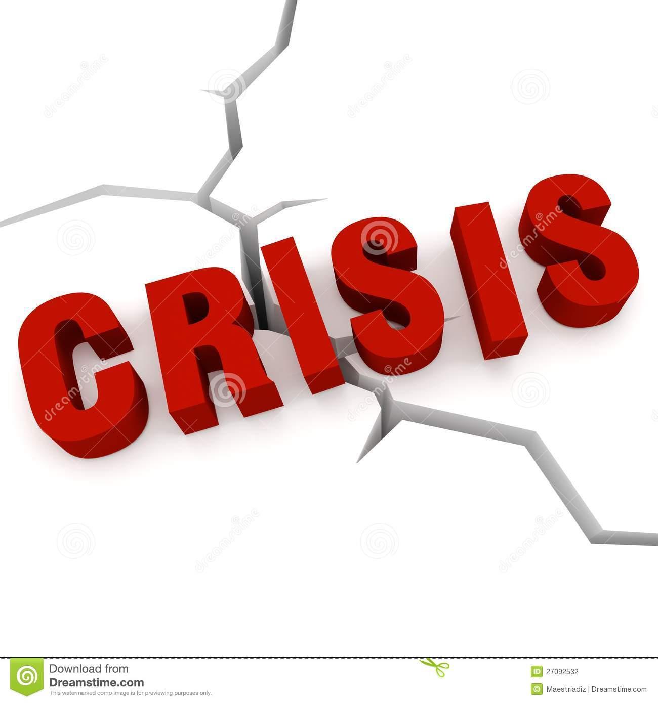 Crisis Clip Art.