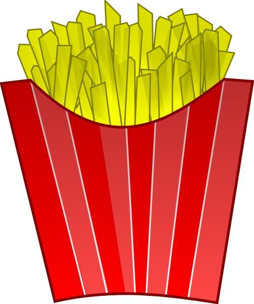 French Fries Clip Art at Clker.com.