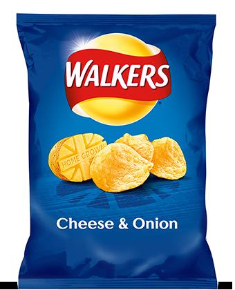 Walkers Potato Crisps Range.