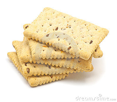 Crunchy Biscuits Stock Image.