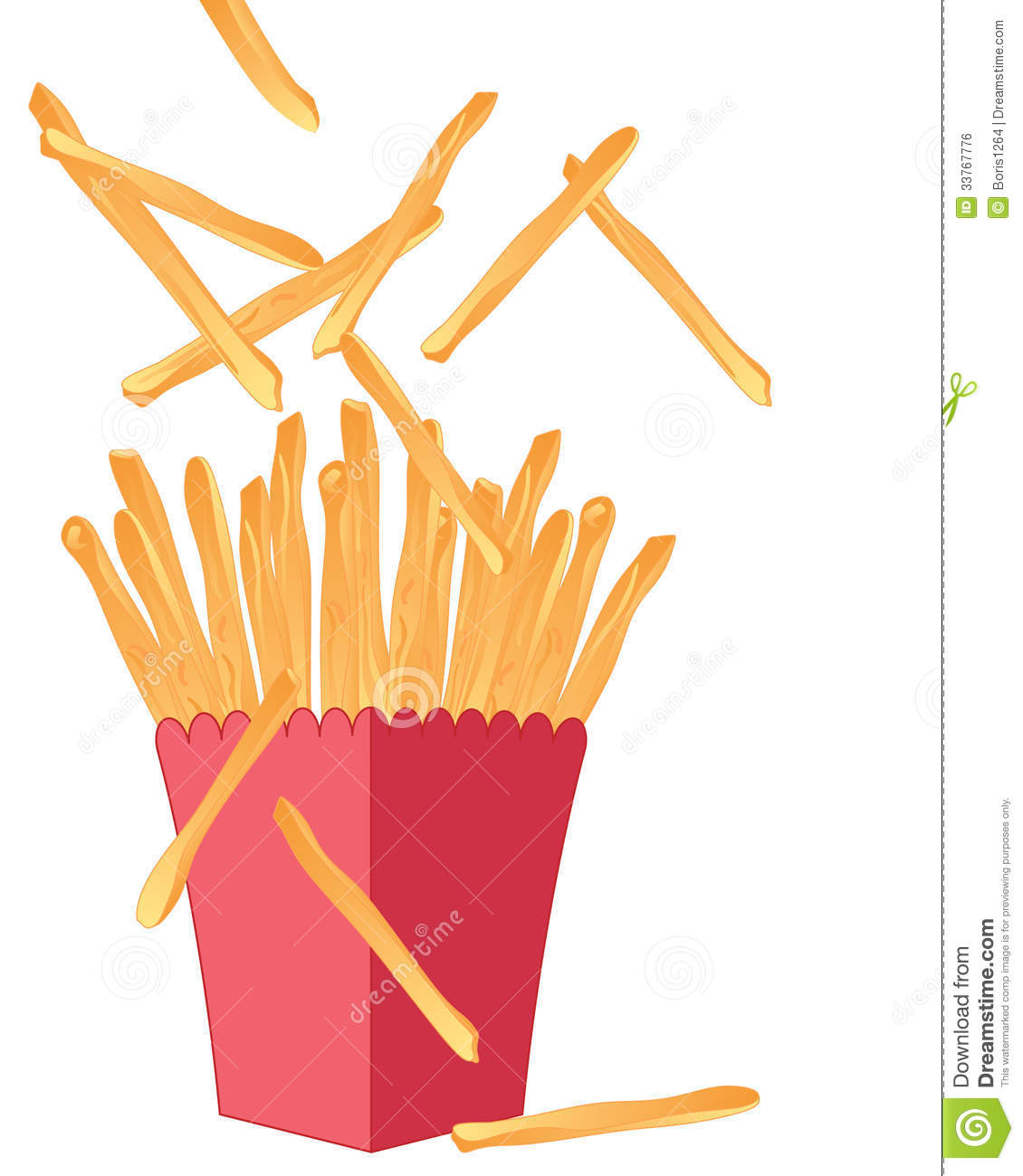 French Fries Royalty Free Stock Image.