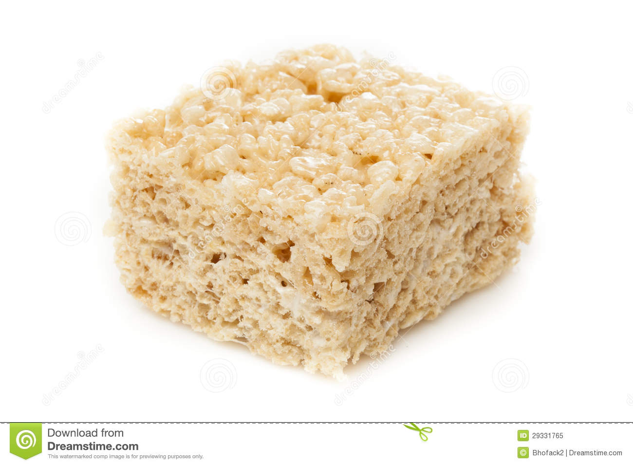 Rice krispie treat clipart.