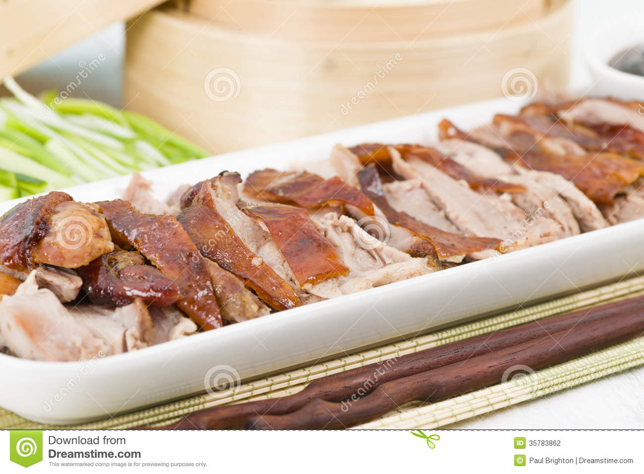 Peking Duck Stock Photography.