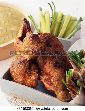 Stock Photo of Crispy aromatic duck (peking duck) x24958052.