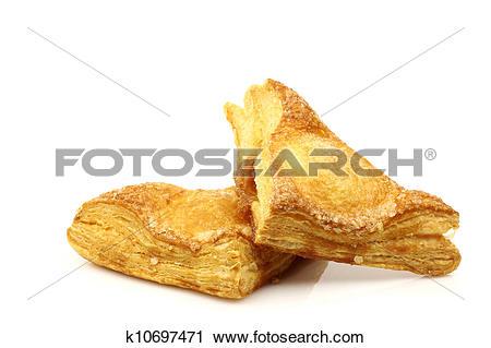 Stock Photography of crispy apple turnovers k10697471.